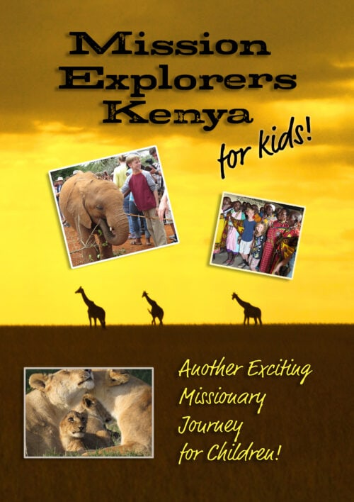 Mission Explorers Kenya for Kids (DVD set)