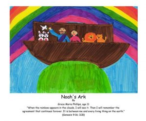 Noah's Ark, rainbow, great flood, God's promise