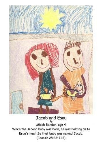 Jacob, Esau, twins, Genesis 25, babies, heel, grab