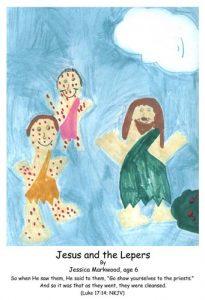 Luke, Bible, God, Jesus, ten lepers, healed, miracle, cleansed
