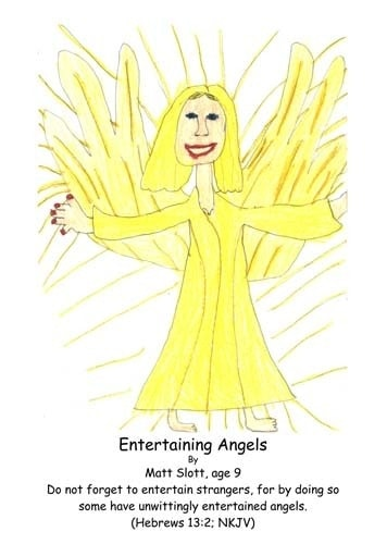 Hebrews 13:2, Bible, God, angels, entertain strangers, entertained angels