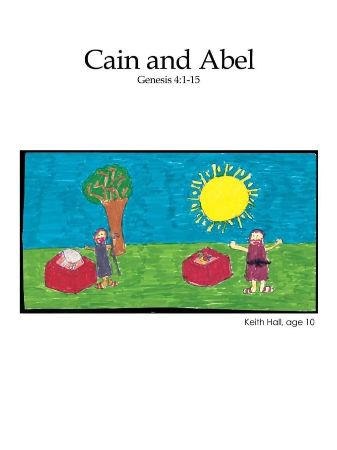 Kids Color Me Bible – Chapter 4 – Cain and Abel