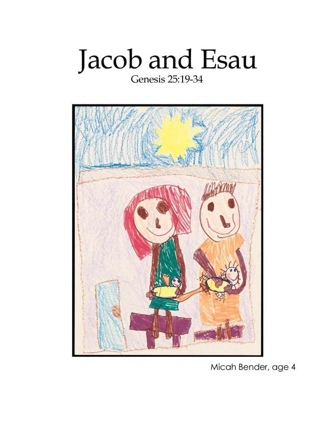 Chapter 8 cover: Jacob and Esau