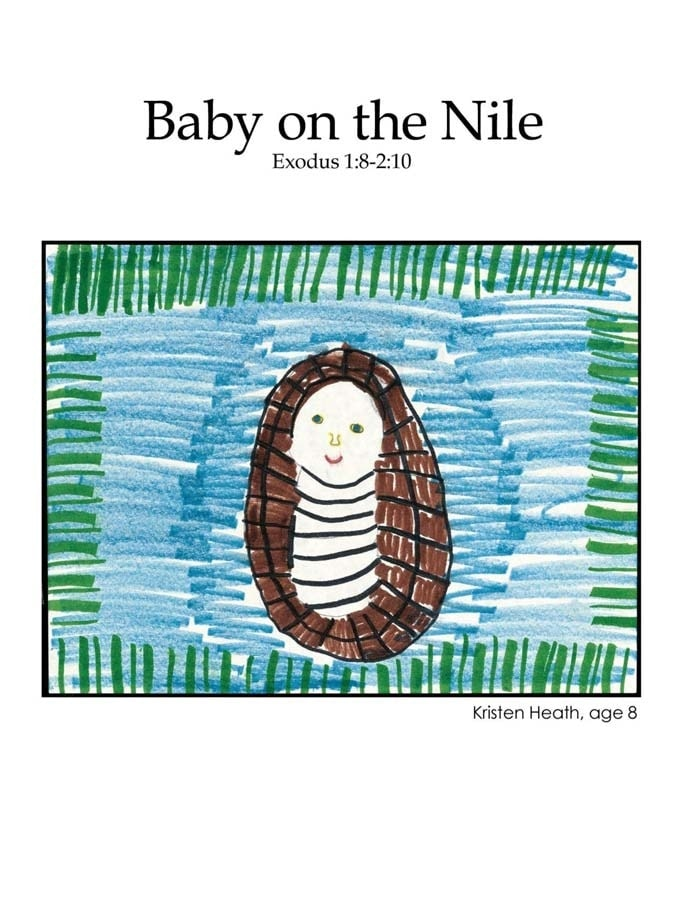 Chapter 10 cover: Baby Moses on the Nile