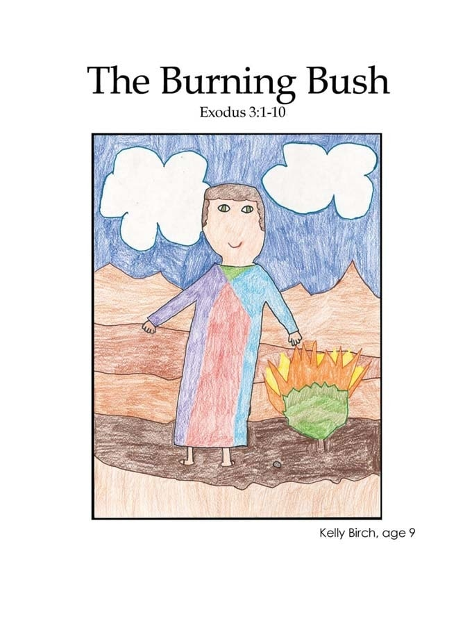 Chapter 11 cover: Moses and the burning bush