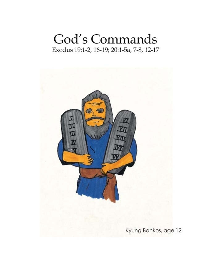Chapter 14 cover: God's Commands