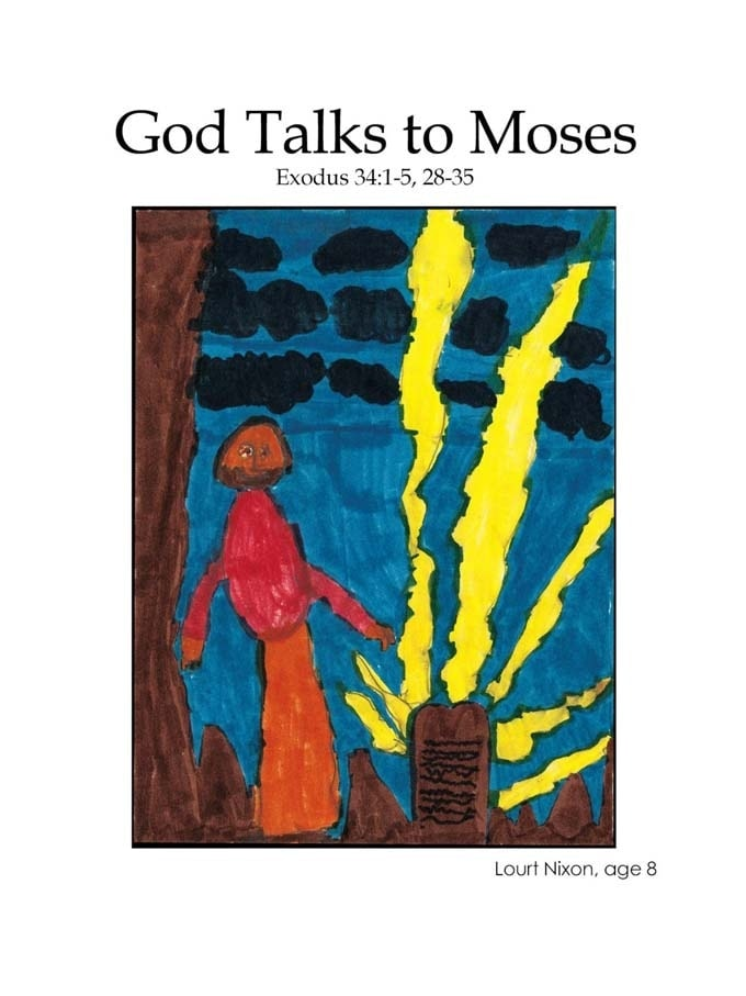 Chapter 16 cover: God Talks to Moses
