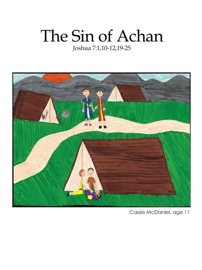 Chapter 17 cover: The Sin of Achan