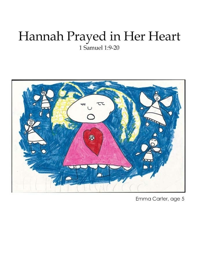 Chapter 19 cover: Hannah Prayed in Her Heart