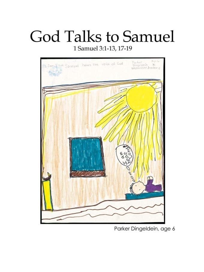 Chapter 20 cover: God Talks to Samuel