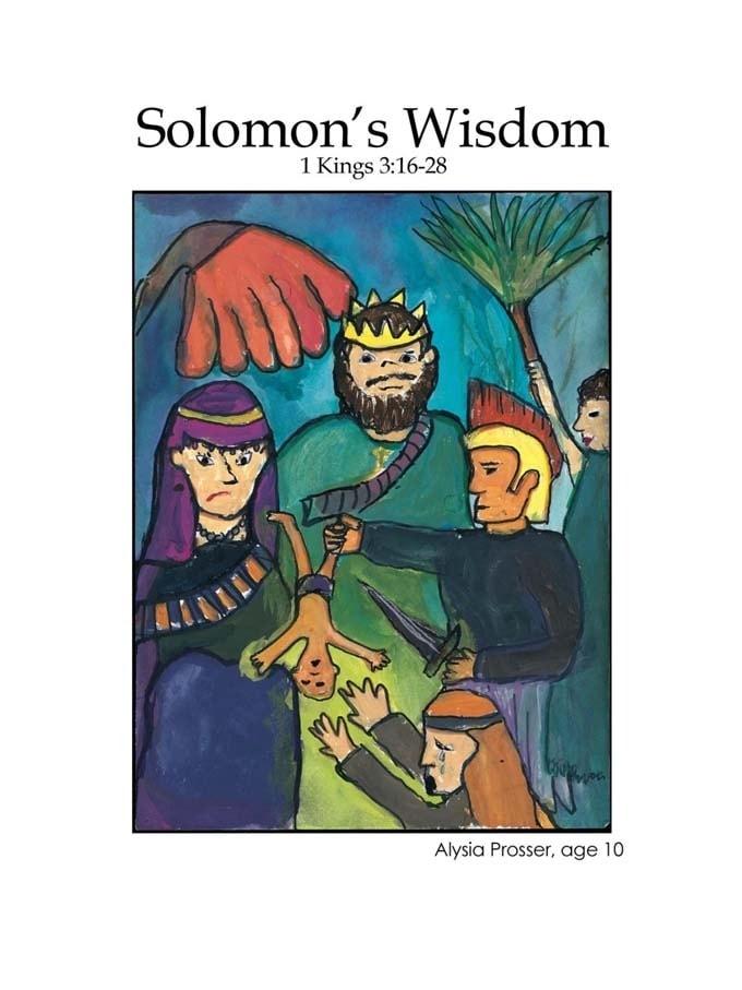 Chapter 23 cover: Solomon's Wisdom