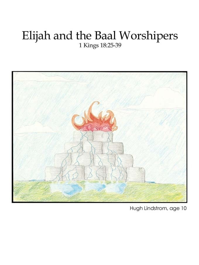 Chapter 24 cover: Elijah and the Baal Worshipers