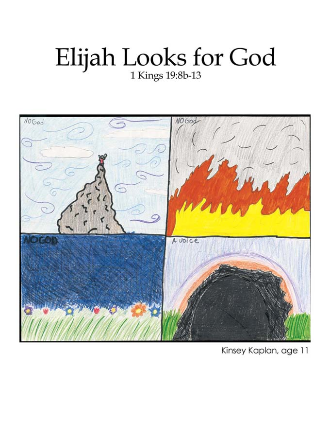 Chapter 25 cover: Elijah Looks for God