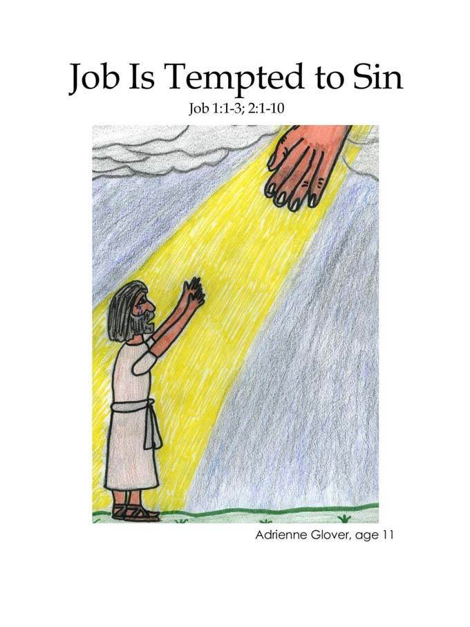 Chapter 27 cover: Job is Tempted to Sin
