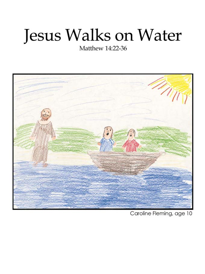 Chapter 36 cover: Jesus Walks on Water