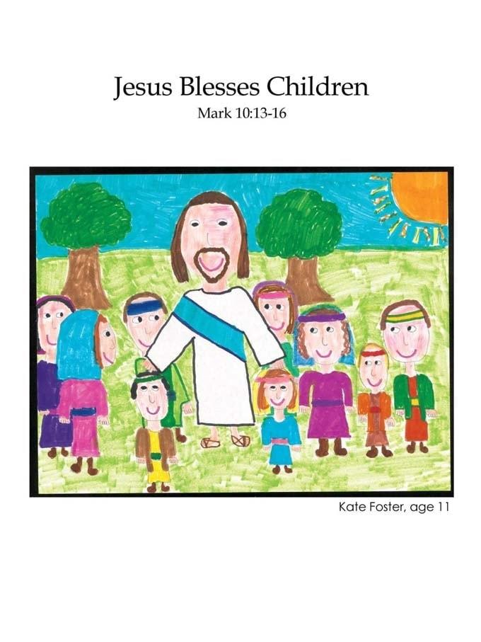 Chapter 38 cover: Jesus Blesses Children