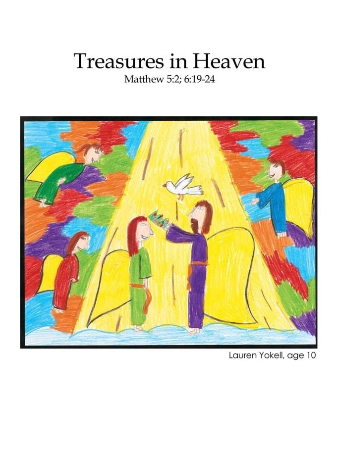 Chapter 40 cover: Treasures in Heaven