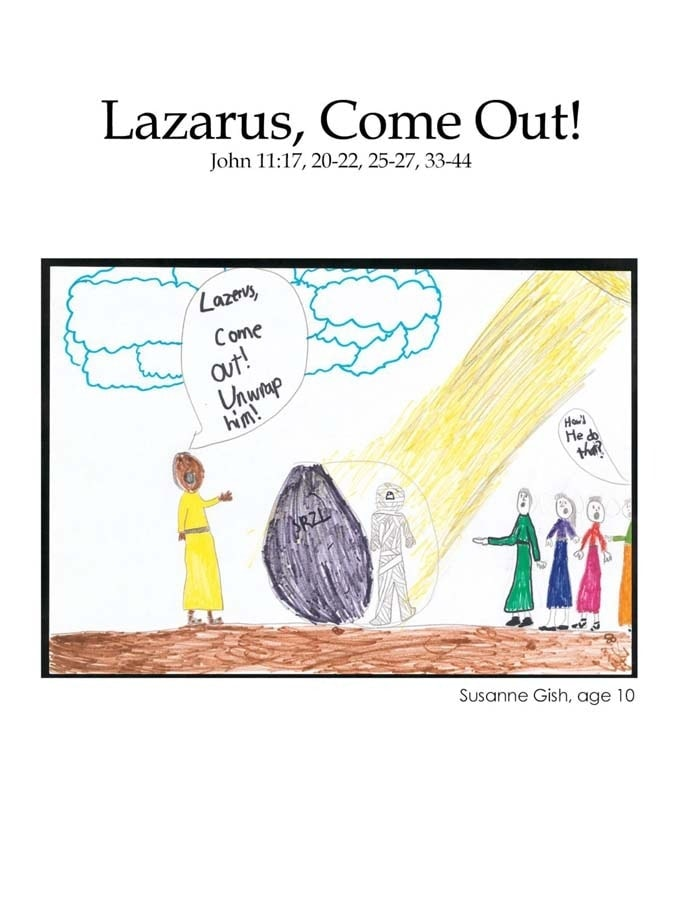 Chapter 45 cover: Lazarus, Come Out!