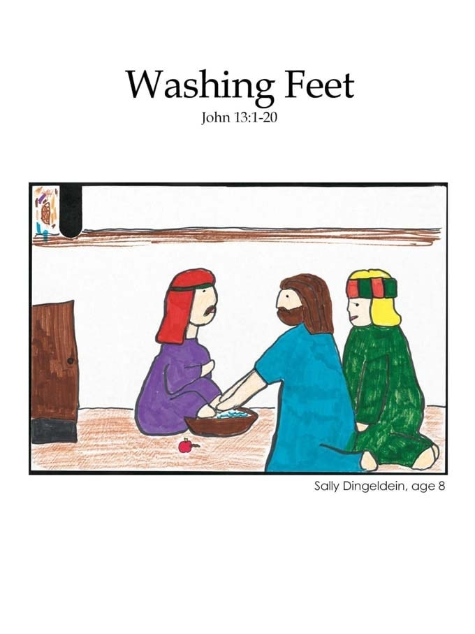 Chapter 46 cover: Washing Feet