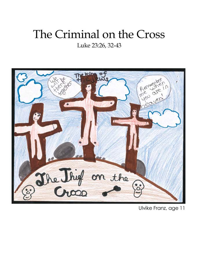 Chapter 50 cover: The Criminal on the Cross