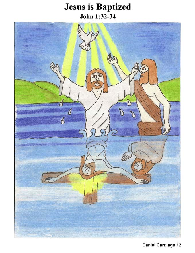 Chapter 6 cover: Jesus is Baptized