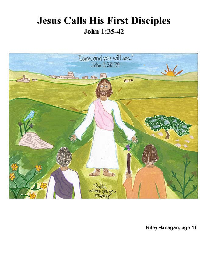 Chapter 7 cover: Jesus Calls His First Disciples