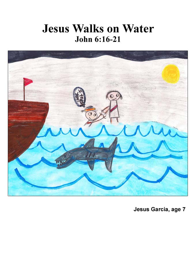 Chapter 28 cover: Jesus Walks on Water