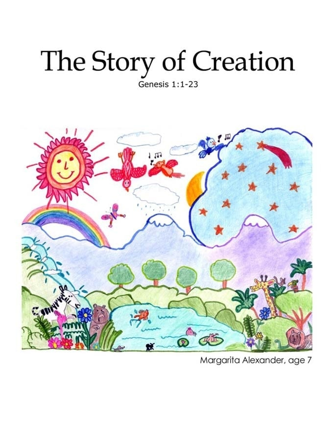 Chapter 1 cover: The Story of Creation