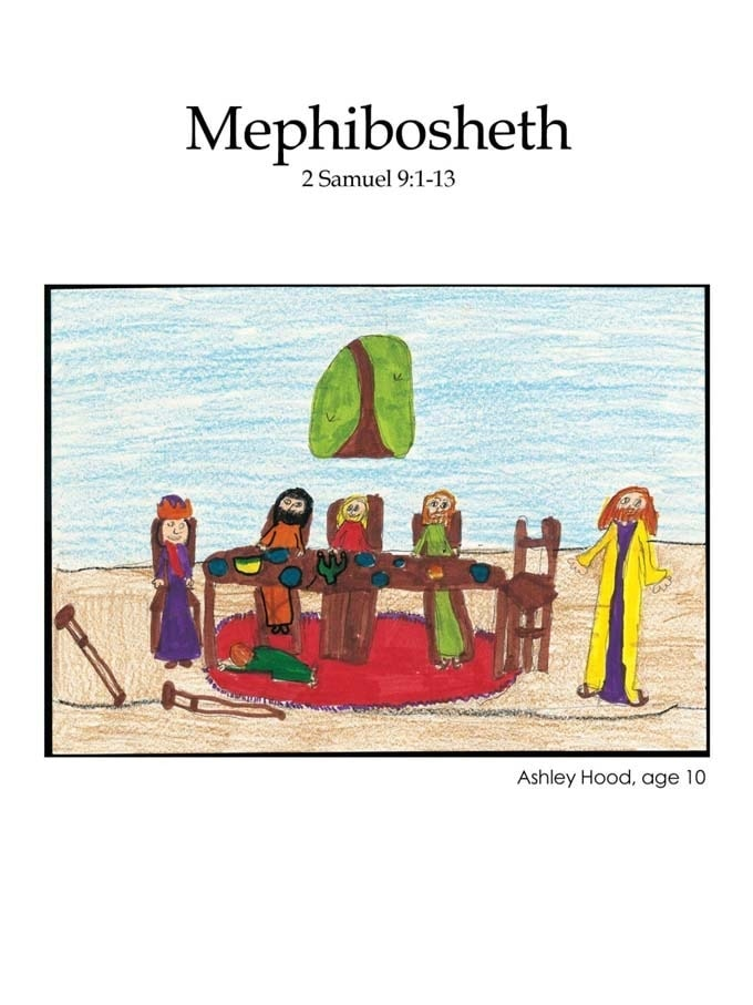 Chapter 22 cover: Mephibosheth