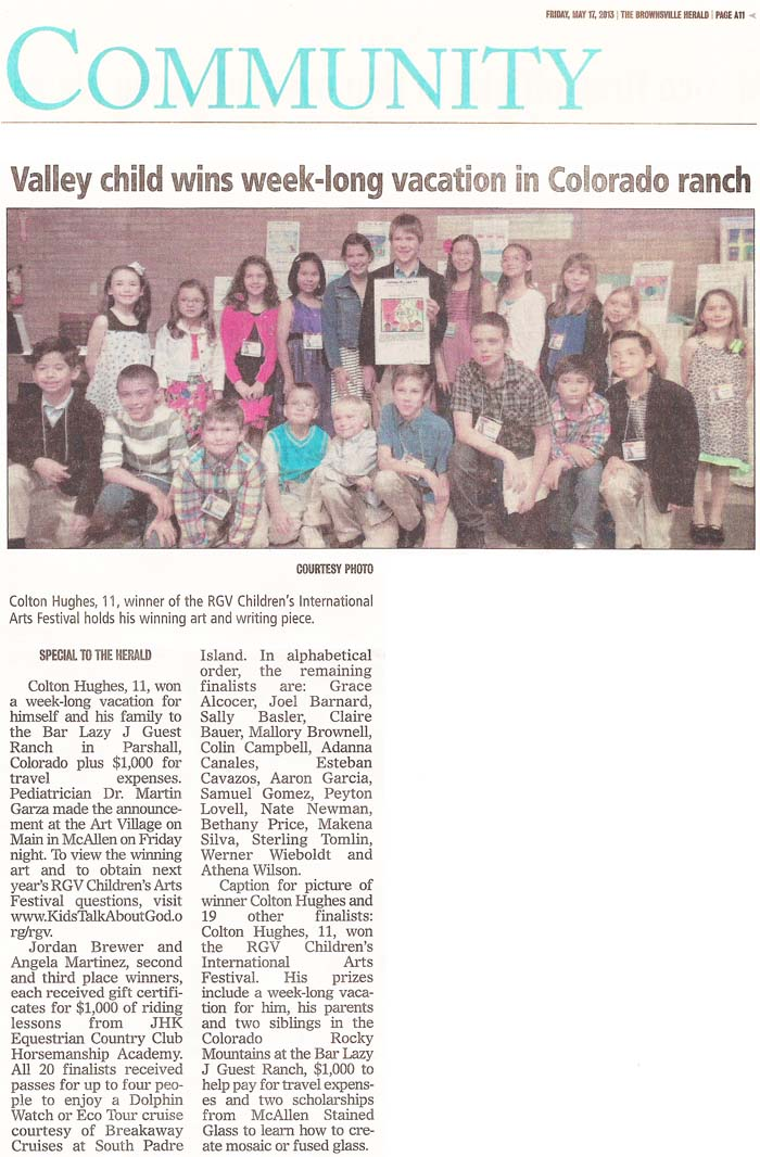 ARTICLE: Brownsville Herald