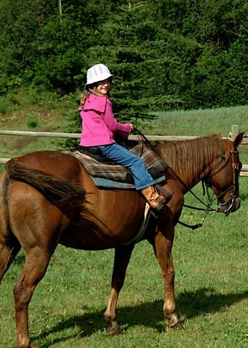 Caroline loved riding this beauty all week!