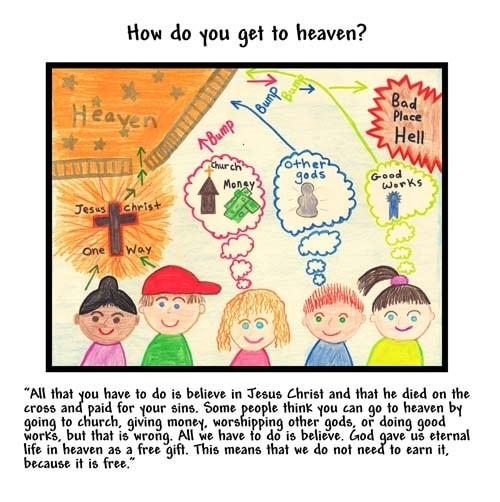 WINNING ART/WRITING: How Do You Get To Heaven?