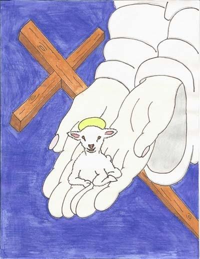 Artwork by Daniel Carr: The Lamb of God