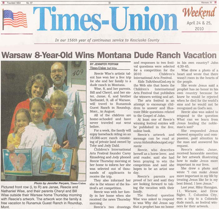 ARTICLE: Times-Union