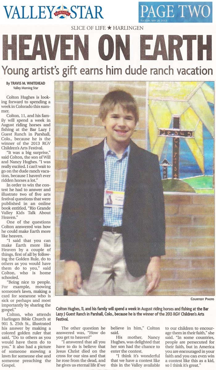 ARTICLE: Valley Morning Star (Harlingen, TX)