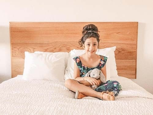 Mollie and her family loved their room at the Beach Resort.