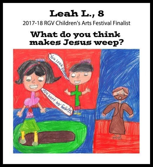 Leah's winning art