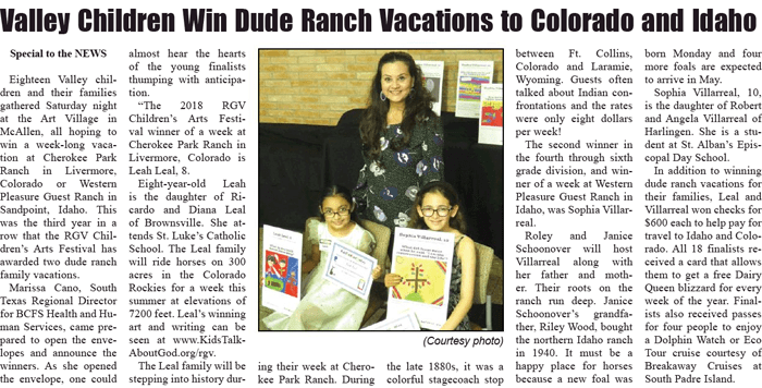ARTICLE: San Benito News