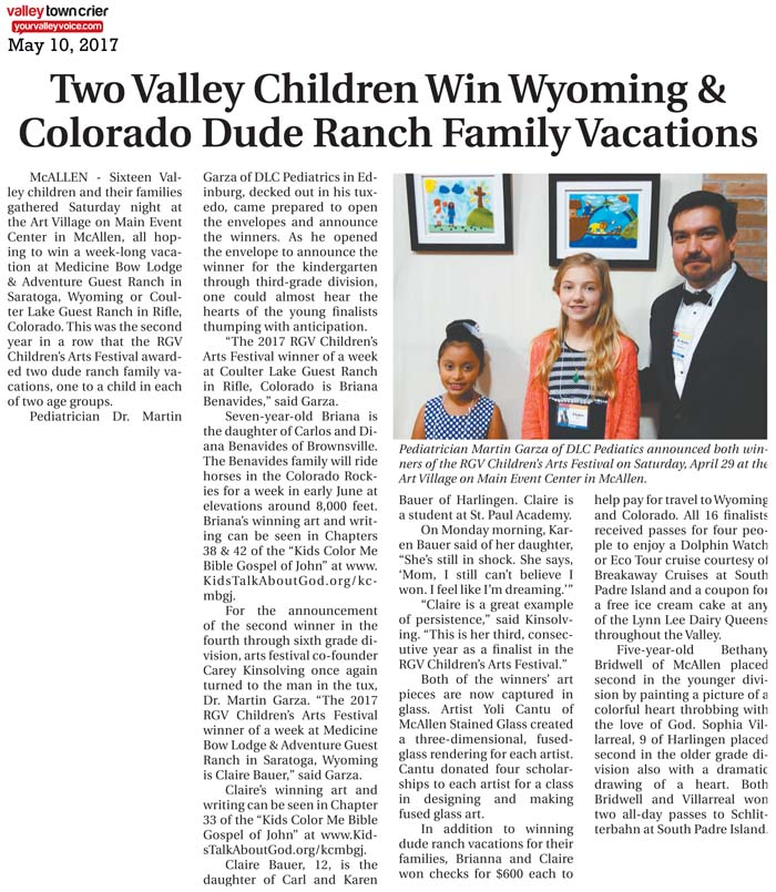 ARTICLE: Valley Town Crier