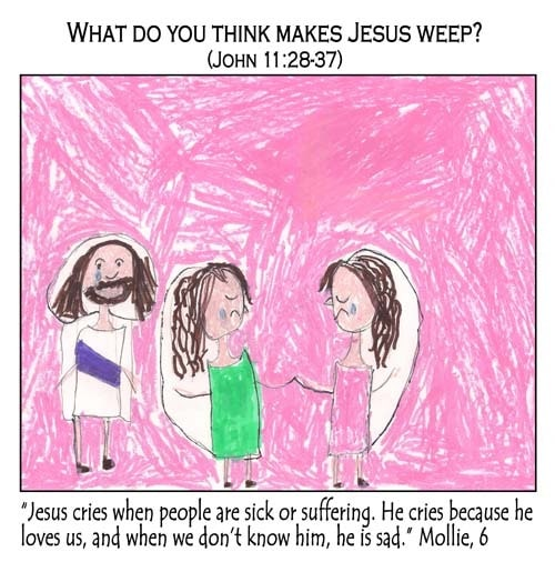 What Do You Think Makes Jesus Weep?