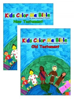 Kids Color Me Bible: Old Testament, New Testament