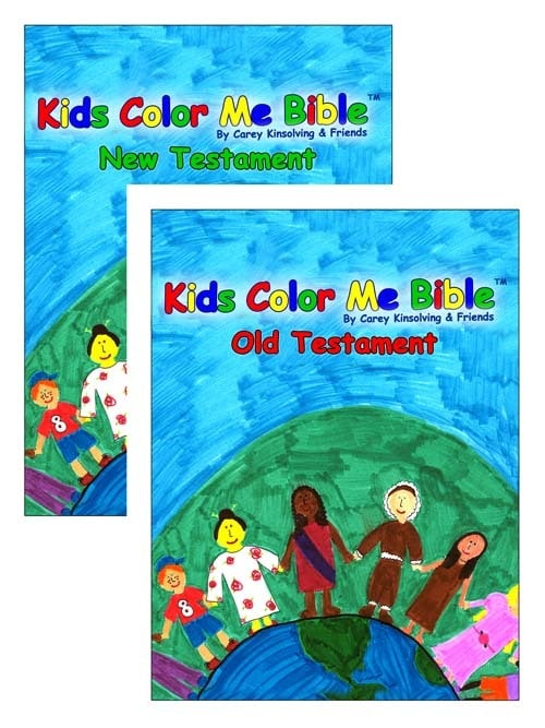 Kids Color Me Bible -- PDF for Download