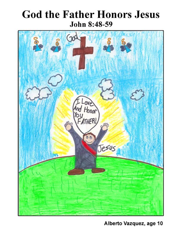 cover art: God the Father Honors Jesus