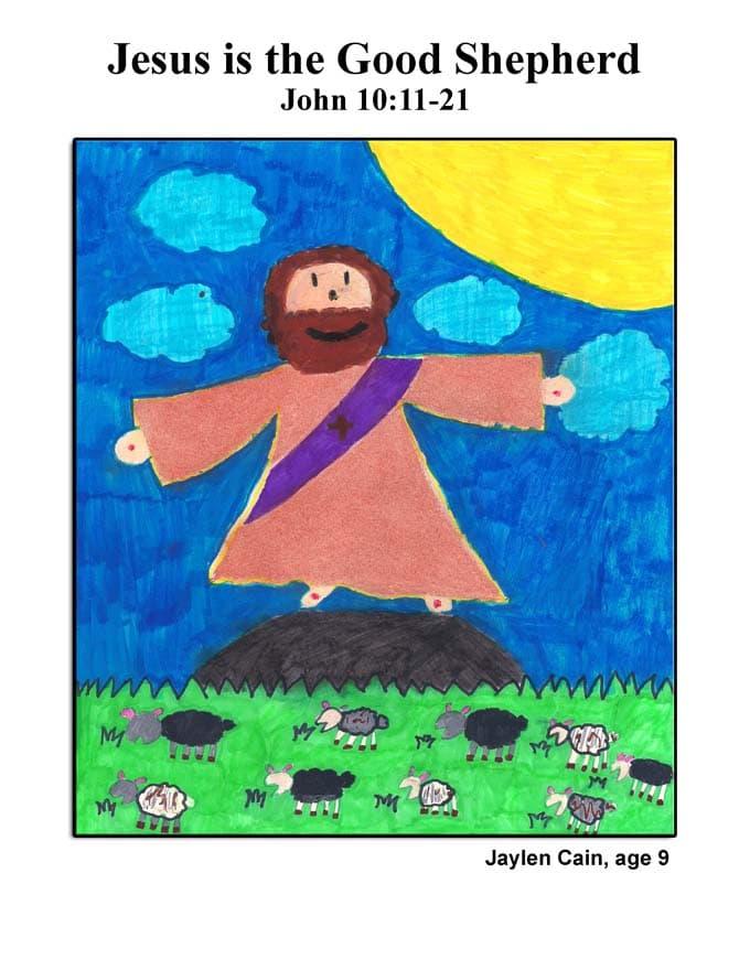 Cover art: Jesus is the Good Shepherd