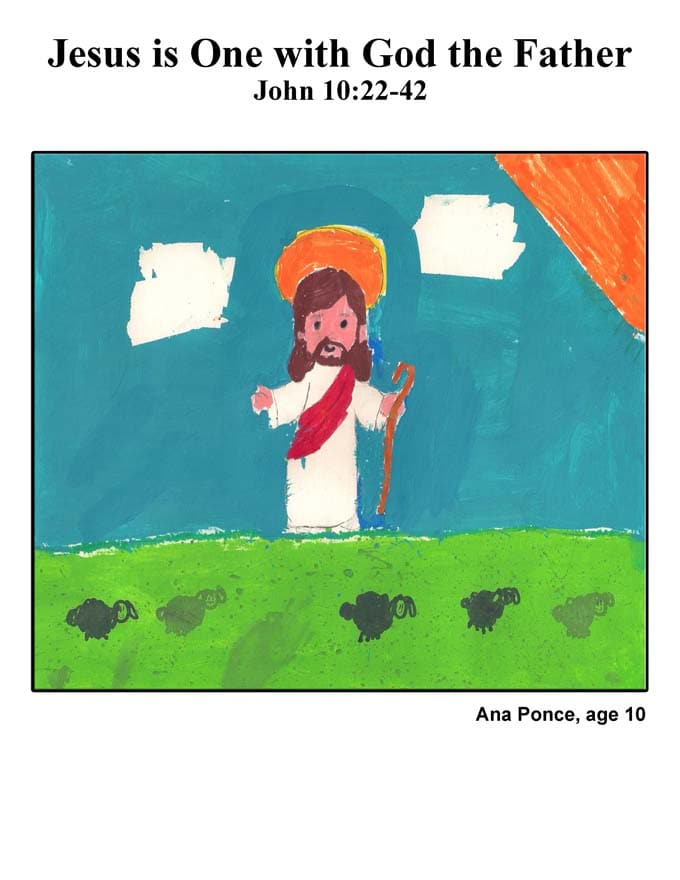 Cover Art: Jesus is One with God the Father