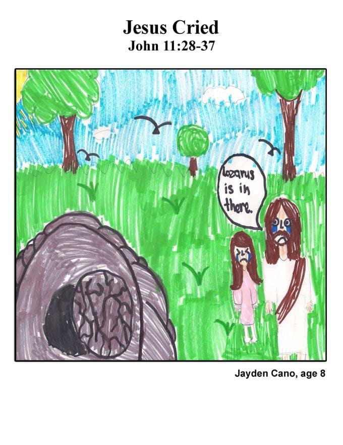 Cover art: Jesus Cried