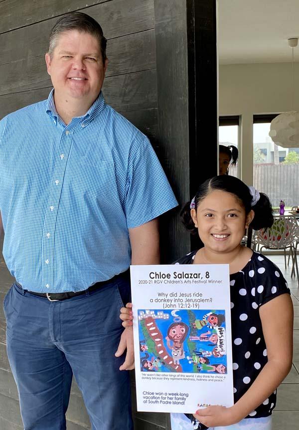 2020-21 RGV Children's Arts Festival Winner: Chloe Salazar