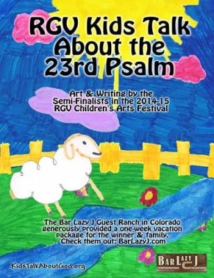An engaging flip book about the beloved 23rd Psalm, filled with children's artwork and writing.